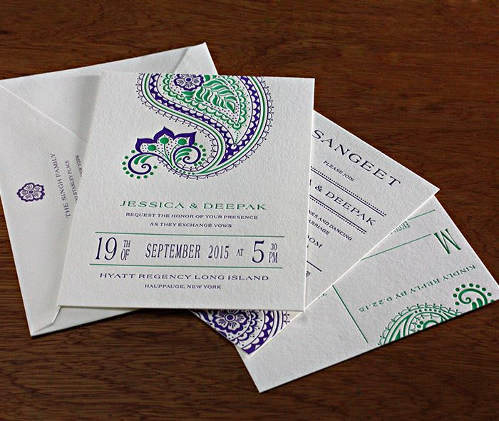 Regency is our newest paisley wedding invitation    Invitations by Ajalon   http://invitationsbyajalon.com/