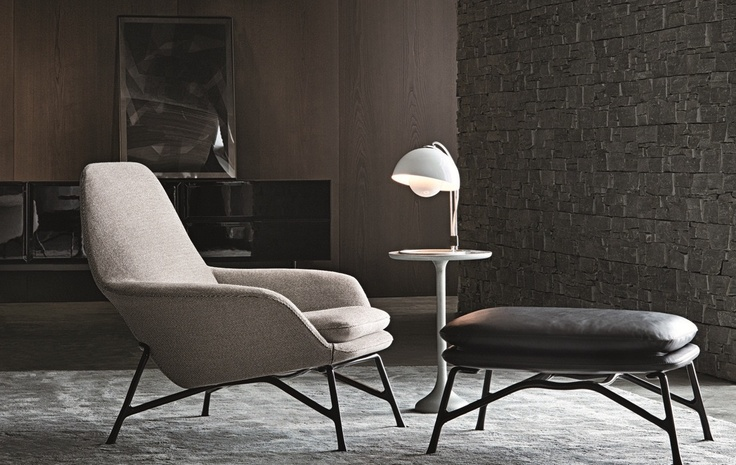 Prince Chair And Footstool By Minotti | Furniture | Pinterest | Principal,  Design And Love This