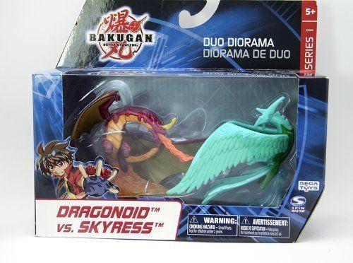 Bakugan Battle Brawlers Duo Diorama - Dragonoid Vs. Skyress by Spin Master. $14.99. Save 50% Off!