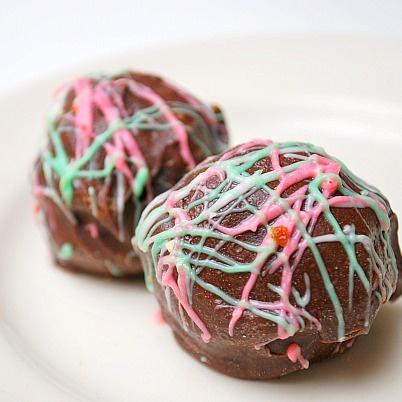 Peppermint Oreo Truffles | Food: Peppermint | Pinterest