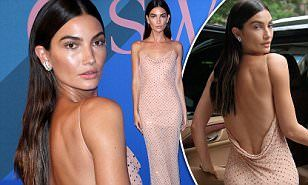 The CFDA Awards in New York City attracts some of the biggest beauties in the fashion business. So how can you blame Lily Aldridge for wanting to stand out?