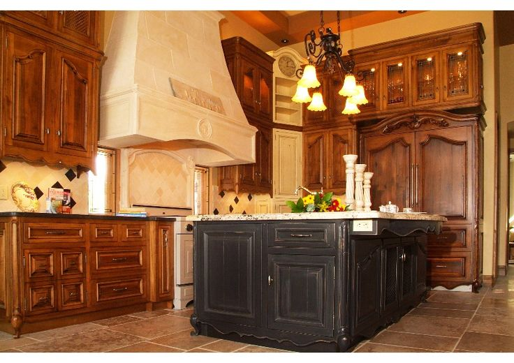 43 best images about french country cottage style on - Country kitchen cabinets ideas ...