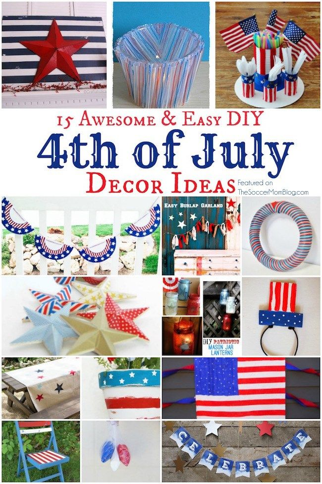 fourth of july simple crafts