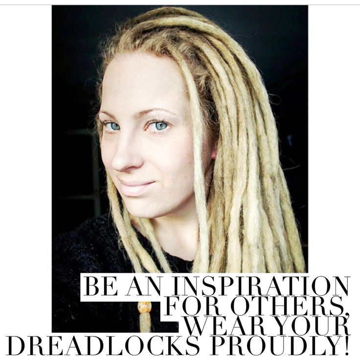 Linn is a proud dreadhead!  She says this about having dreadlocks:             My dreads are alive and it's such a joy to see them to evolve and change over time. Each  and every  dread on my head is for me unique  and special. I was skeptical about the hole dread thing for more than seven years before I finally understood that I was going to be a real dreadhead, and today I have had my dreadlocks for 3 years. They are a part of me and I never regret my decision for even a second. I'm a…
