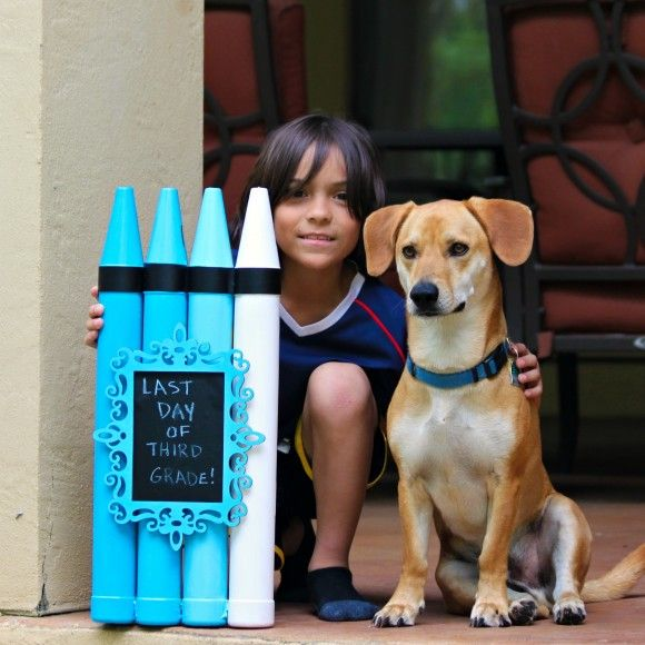 Make a Chalk Board that can also be used as a Photo Prop