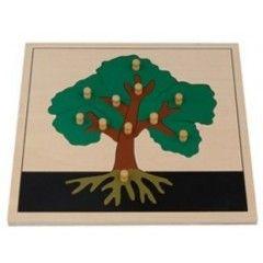Puzzle de l'arbre | Puzzles de botanique | Tangram Montessori