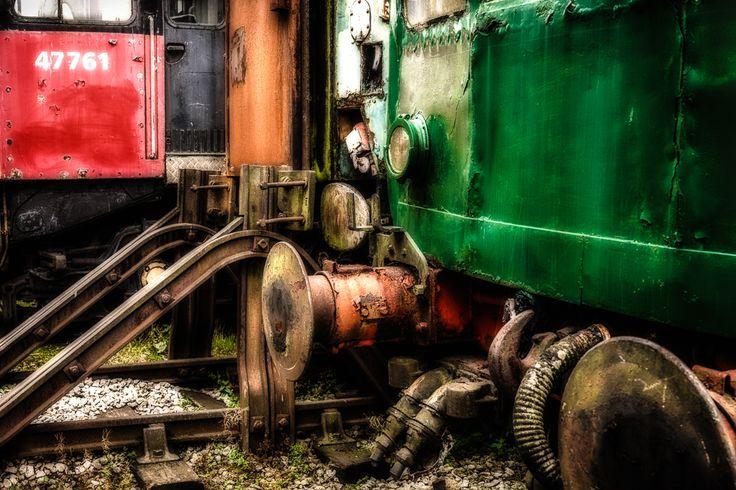 Derelict trains