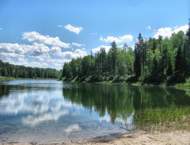 Green Lake, Kettle Lakes Provincial Park