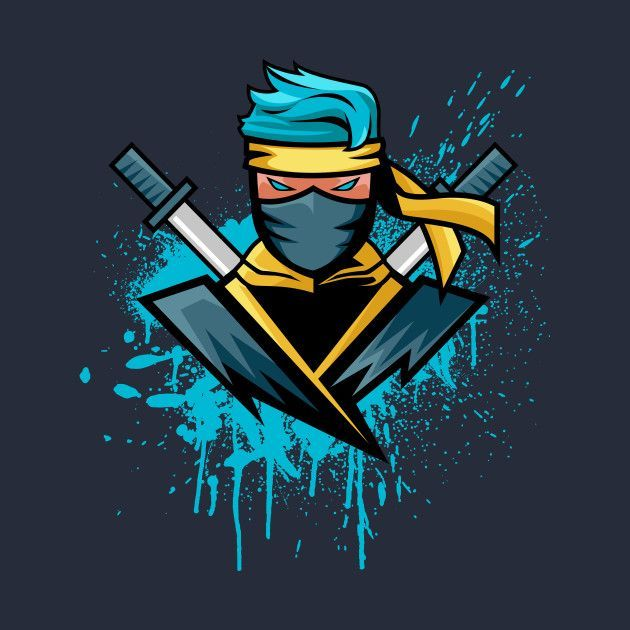 Fortnite Gift Ideas Ninja Logo Art Logo Ninja Wallpaper