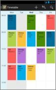 Android Time table App - .:: Amader Forum - We Lead & Others Follow ::.