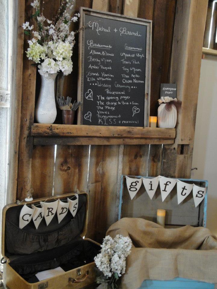 Rustic Wedding Gift Table Ideas 7 Best Wedding Gift Table