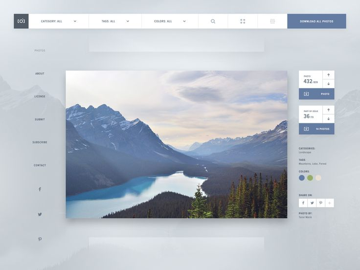 Unsplash Redesign   Dashboard UI Design #ui #design #theme