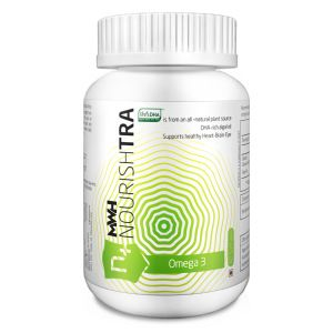 Omega 3  - 100% #Vegan Source - Awesome for #Pregnant Ladies - Good for #heart, #brain, #hair  http://shop.neisswellness.com/dietary-supplements/nourishtra/omega-3  #NWIL