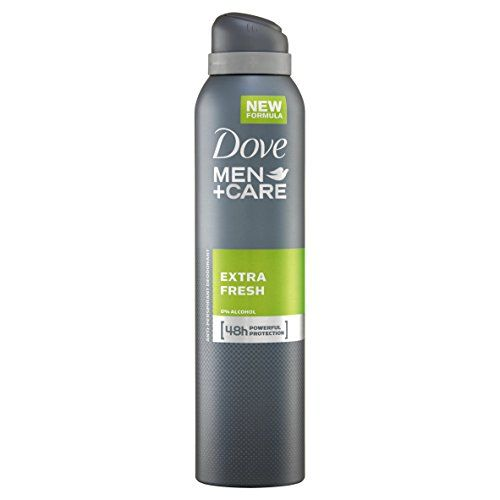 From 2.00:Dove Men  Care Extra Fresh Aerosol Anti-perspirant Deodorant 250 Ml - Pack Of 3