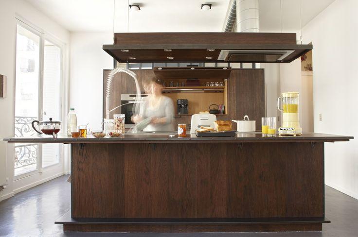 Fabrication de cuisines contemporaines Loft