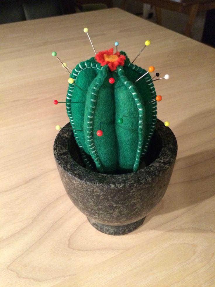 Cactus speldenkussen