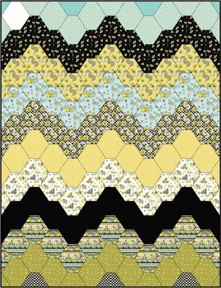 "Remember the old ""bargello"" needlepoint patterns from the 70s?"