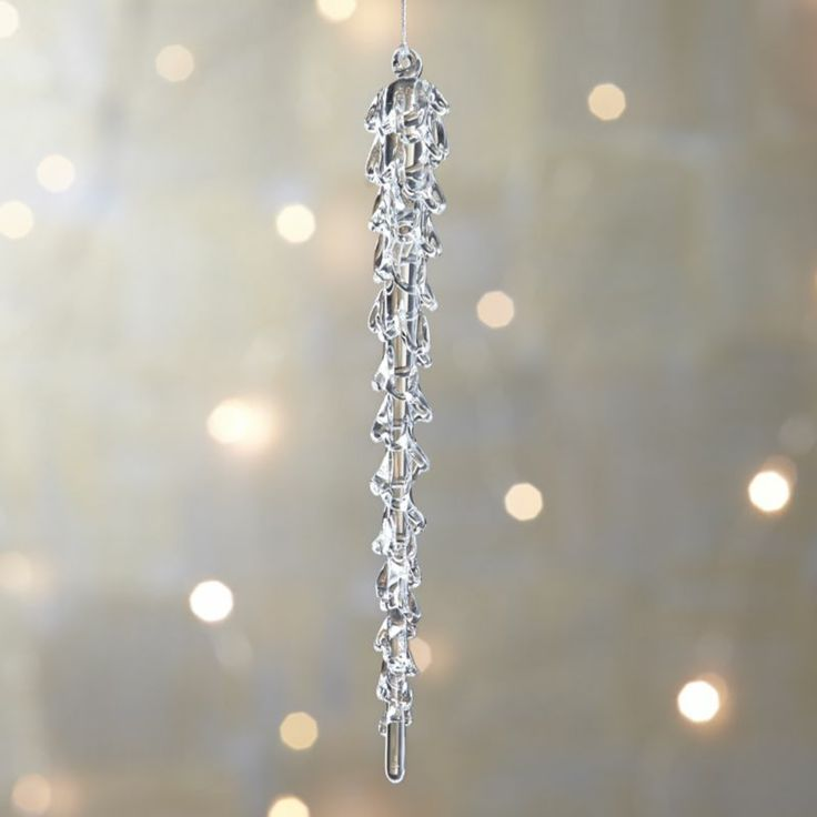 Christmas Decorations Icicle Ornaments: 107 Best Images About Christmas Tree Icicles On Pinterest