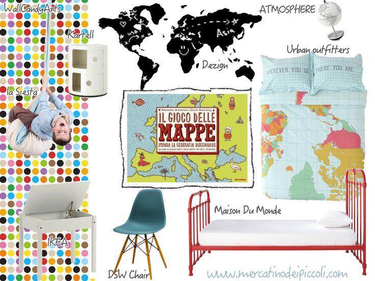 Il gioco delle Mappe | Maps A moodboard #book #map