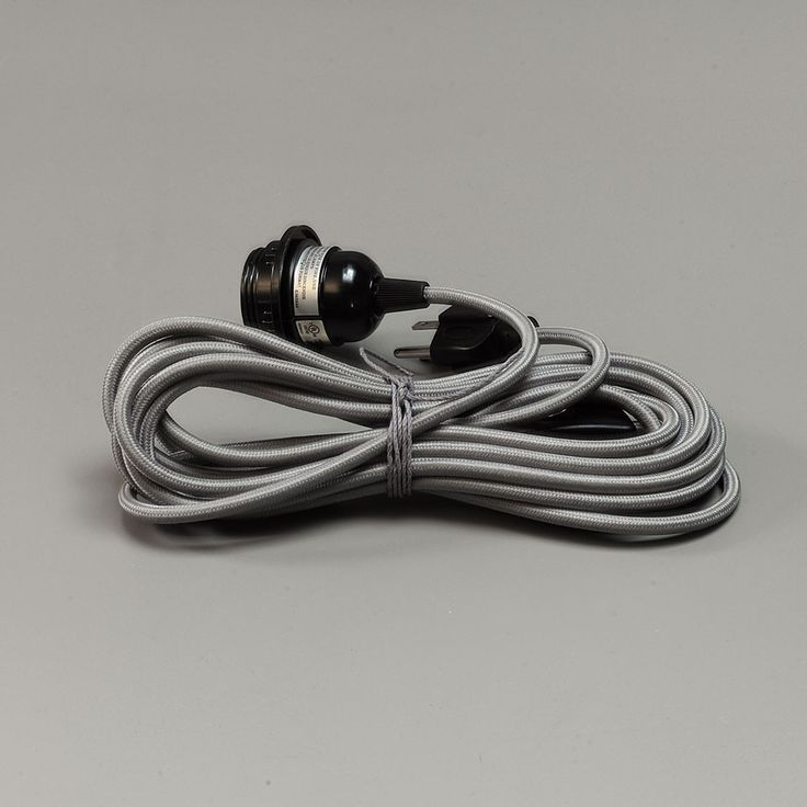 30. 15' cord grey lantern cord set