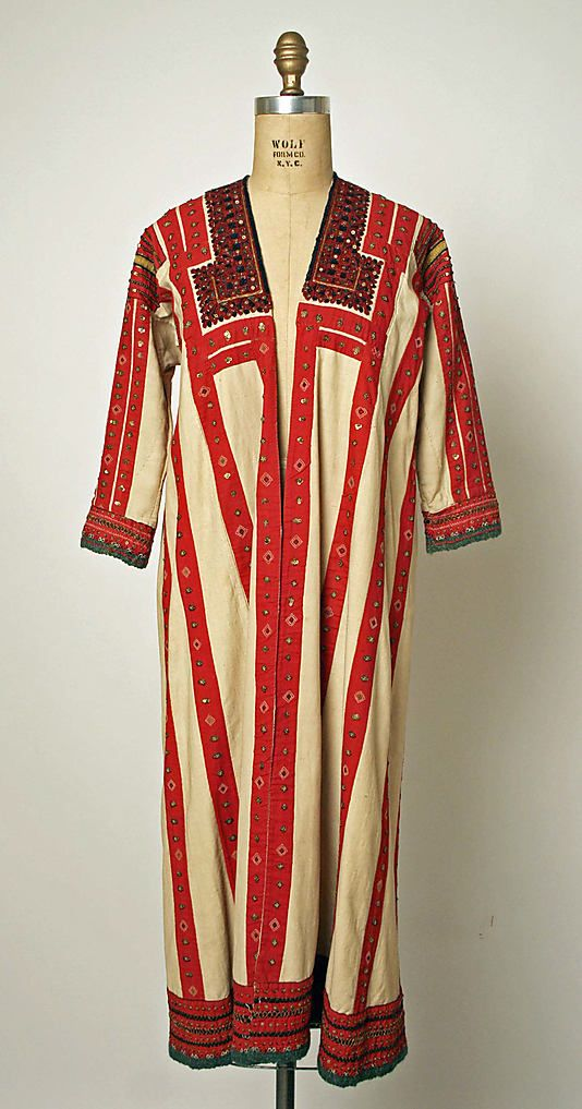 Robe Date: 1800–1939 Culture: Russian Medium: linen, cotton