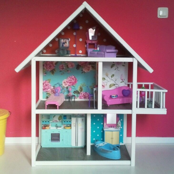 Barbie Doll House Diy My Diy Pinterest