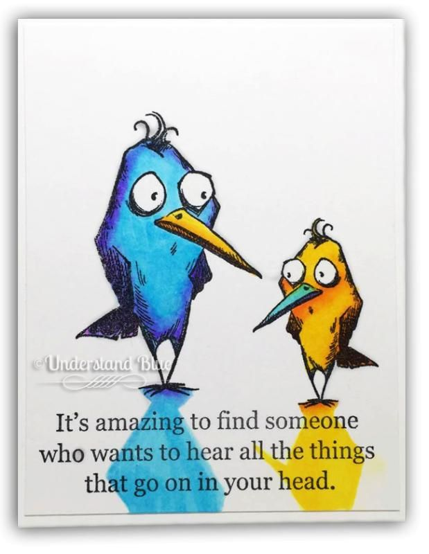 8/5/16.  Understand Blue: Crazy, Crazy Birds