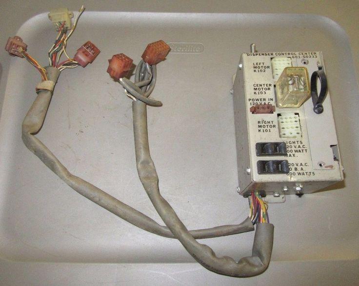 ROWE BCC-8 COIN CHANGER CHANGE MACHINE DISPENSER CONTROL CENTER 601-50233, GUC #ROWE