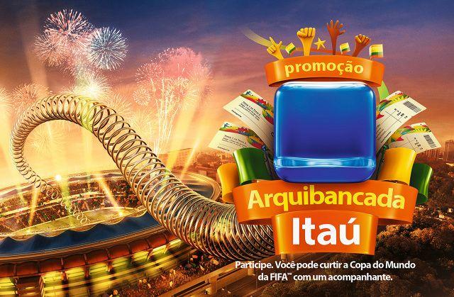 Promoção Arquibancada Itaú - ivan pestana