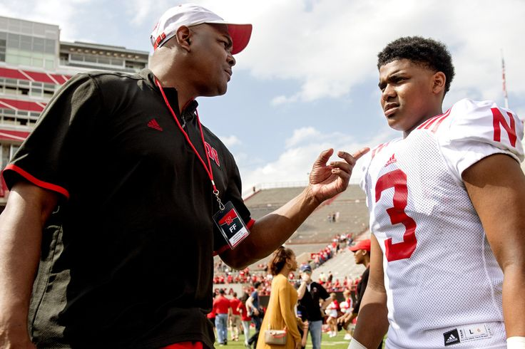 Keyshawn Johnson doesn't want his son to get the damn ball. Keyshawn Johnson Jr. was planning to start his college career as a wide receiver at Nebraska this year, but the highly touted freshman no…