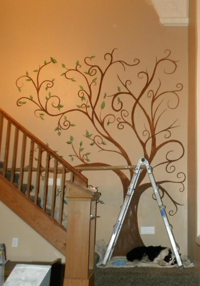 30 best woodburning patterns images on pinterest for Diy family tree wall mural