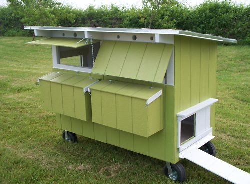 17 best images about chickens coops and tractors on for Maintenance free chicken coop