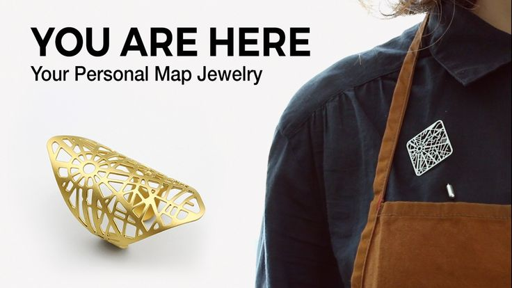 Take a memory and wear it. Your hometown. Where you first fell in love. Turn the map of your favorite place on earth into jewelry.