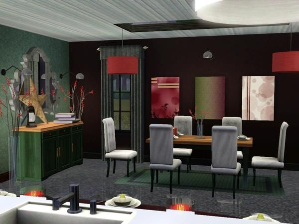 17 best images about sims on pinterest 102 the sims and for Sims 3 dining room ideas