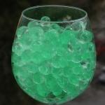 Grønne marmor vandperler, 10G, 15,-