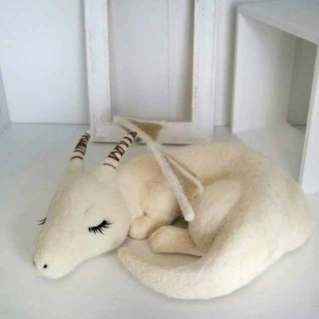 モーリーさま専用♪羊毛♪ベビードラゴン | iichi(いいち)| ハンドメイド・クラフト・手仕事品の販売・購入