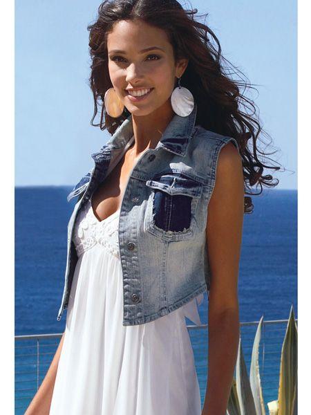 джинсовый жилет женский: 19 тыс изображений найдено в Яндекс.Картинках