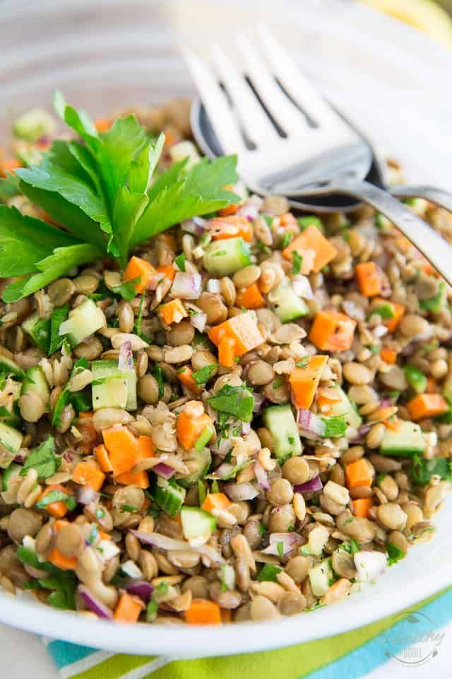 Green Lentil Salad Thatll Have You Want More
