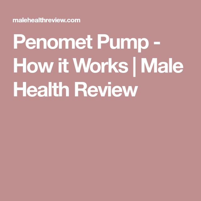 Penomet Pump - How it Works | Male Health Review