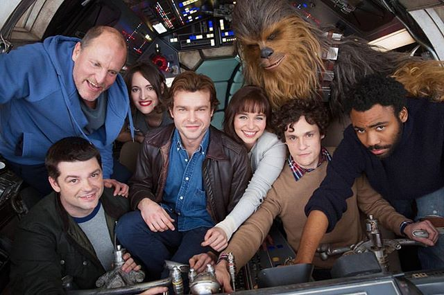 First Look at Han Solo stand alone movie cast together!  Photo curtesy of @filmfoodieozzy  Download at nomoremutants-com.tumblr.com  Key Film Dates * Star Wars - Episode VIII: Dec 15, 2017  #vader #darthvader #stormtrooper #starwars #episodeviii #episode8 #anewhope #theempirestrikesback #theforceawakens #jedi #sith #Rougeone #r2d2 #kyloren #bobafett #lightsaber #cosplay #lukeskywalker #hansolo #chewbacca #JynErso #princessleia #landocalrissian