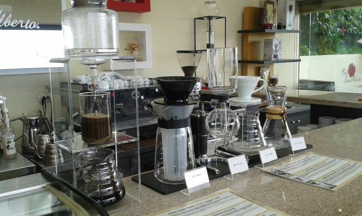 Diferentes sistemas para extraer y disfrutar toda la esencia de nuestro cafe