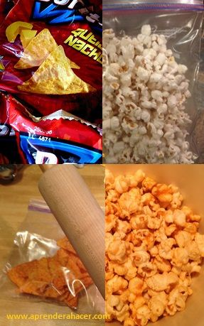 Doritos popcorn, maybe I will try it some  day