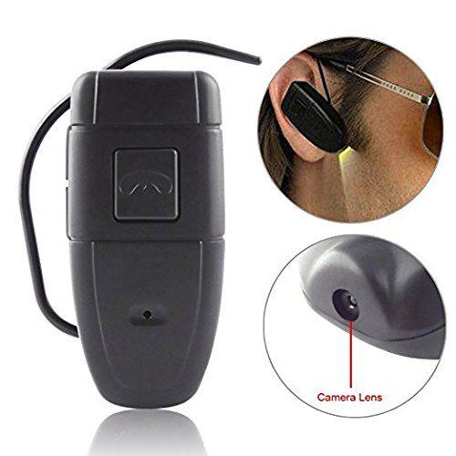 MDTEK8GB Wearable Hidden Camera Bluetooth Earphone Mini DV Camcorder Spy Camera Bluetooth Earphone Video Camera Wearable Hidden Cam -- Want additional info? Click on the image.