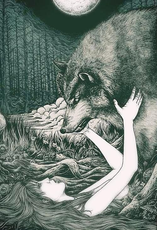 Seduced by a wolf? Oh my! :-p: