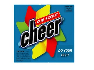 Cub Scout Cheer Box