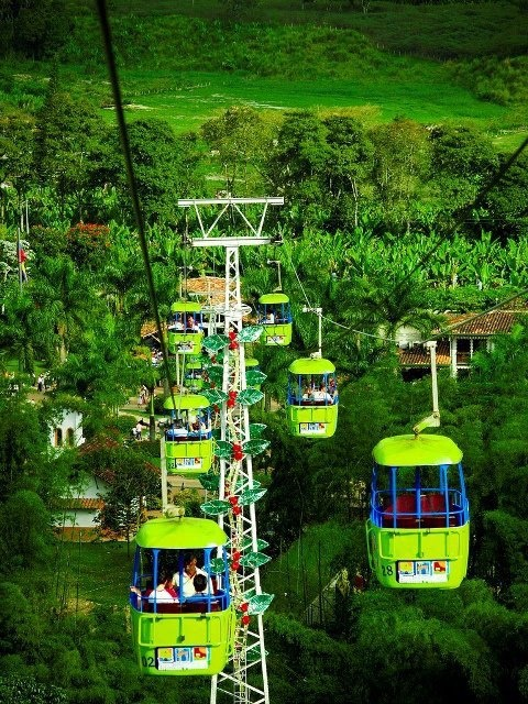 The Colombian National Coffee Park, Colombia