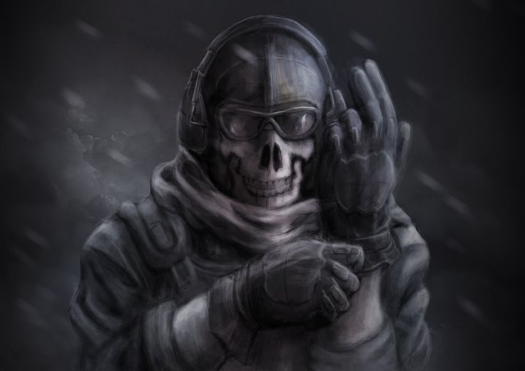 Carrying The Ghosts Logo From The New Call Of Duty