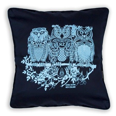 owls cushion cover - Global Culture