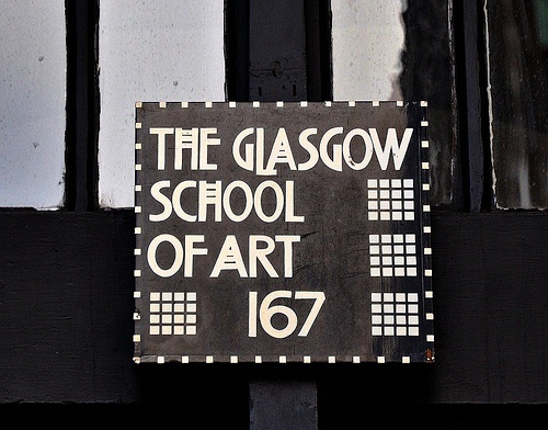 This is like Movie font!! Who'd have known it was stolen from the one and only guy (forgotten his name!!) that opened the Glasgow School of Art!!!