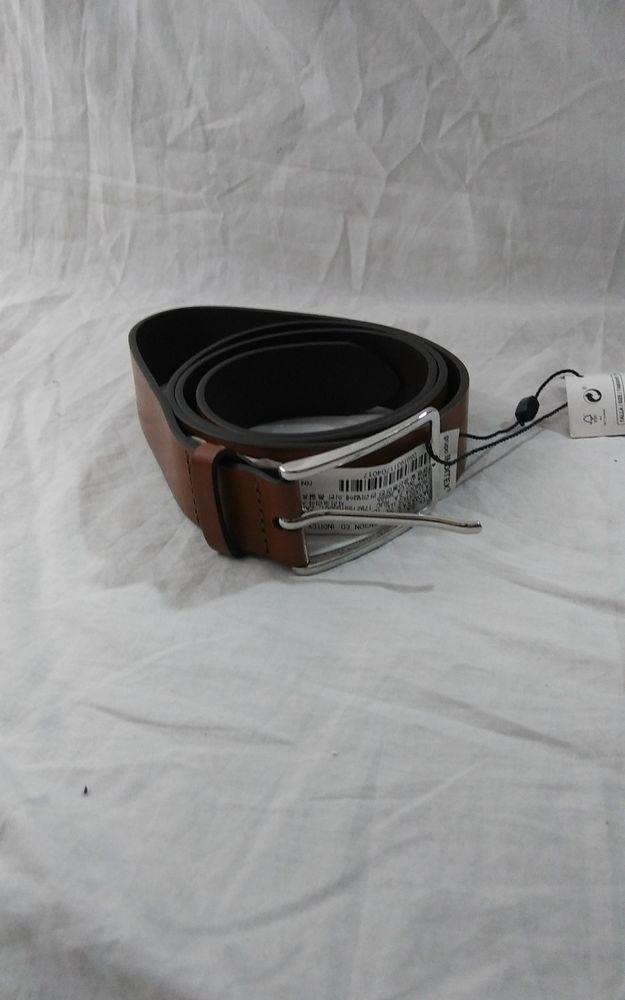 ZARA MAN Gentlemans 100% Leather Brown Belt Size 40 (1) #Zara #FashionBelt